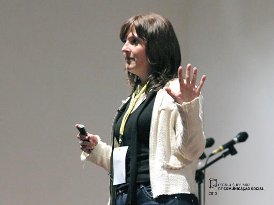 """Painel """"Descobrir, Criar e Comunicar a nossa própria marca: Eu Marca Registada"""", por Teresa Calisto"""