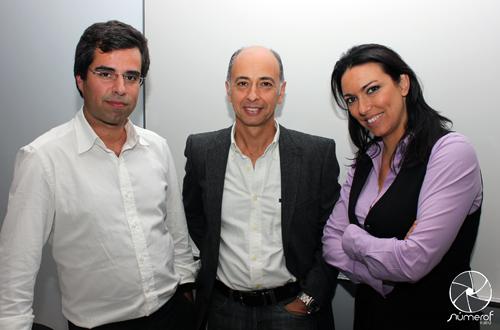 Jorge Souto, Jorge Veríssimo e Fernanda Freitas