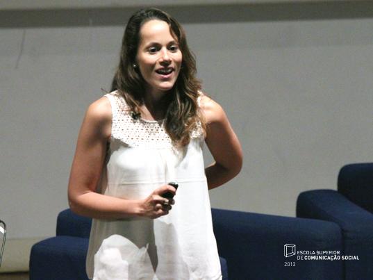 """Palestra """"Brand You @ ESCS 8:00 GMT"""", por Inês Tomás Mateus (Samsung Portugal e docente na ESCS)"""