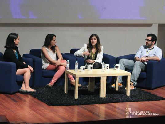 """Debate """"Importância da Personalidade Digital"""", moderado por Ana Freitas Reis (Progma)"""