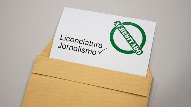 Licenciatura em Jornalismo renova acreditação