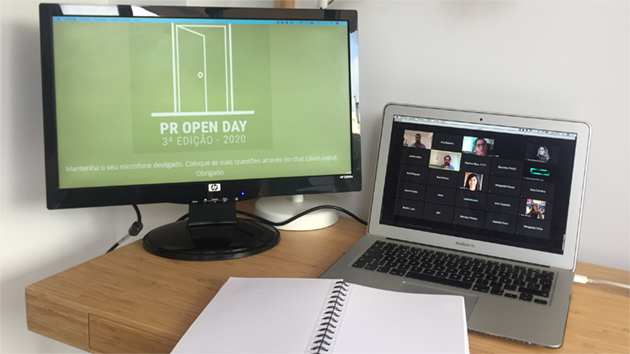 <i>PR Open Day</i> em edição digital