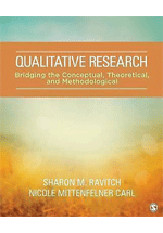 Qualitative research : bridging the conceptual, theoretical, and methodological