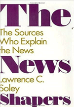 The news shapers : the sources who explain the news