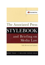 Stylebook and briefing on media law : with  Internet guide and glossary