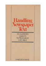 Handling newspaper text : an illustraded guide to putting news into print