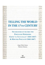Telling the world in the 17th century : the discourse of the first two portuguese newspapers :
