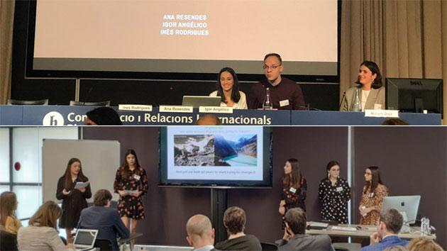 Alunos de RPCE participaram na Blanquerna-Emerson Global Summit 2019